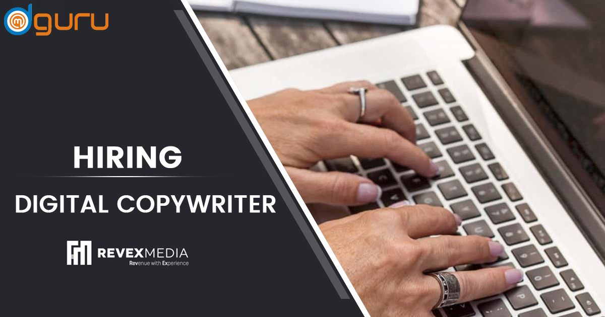 Digital Copywriter Vacancy at Revex Media Gurgaon
