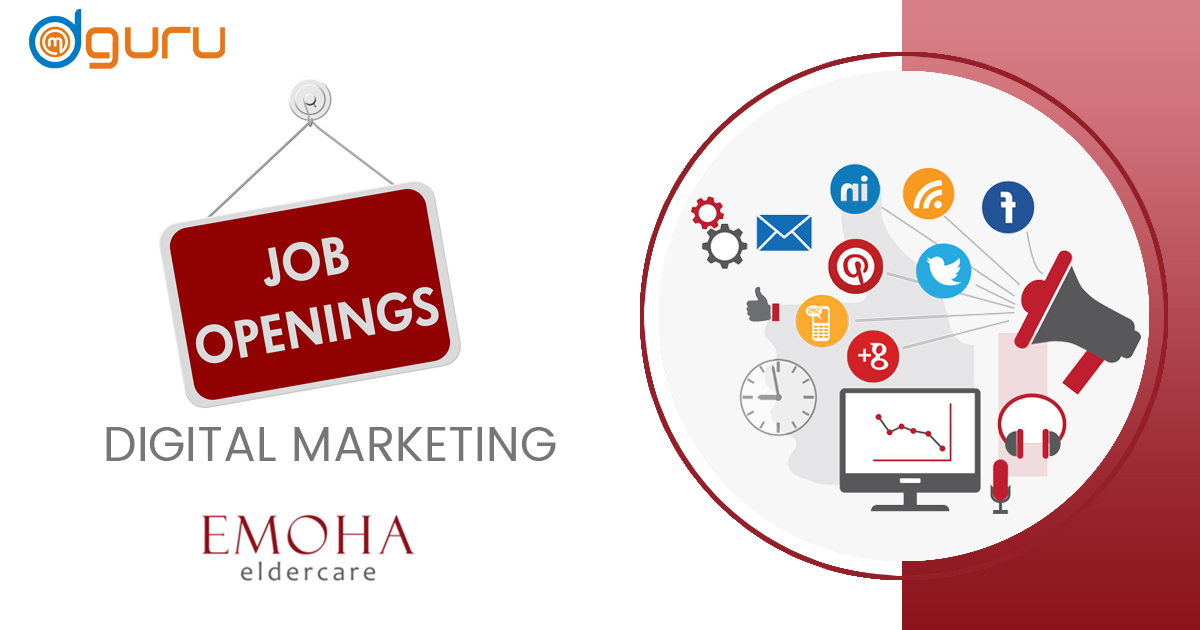Digital Marketing Executive Job/Vacancy at Emoha Eldecare