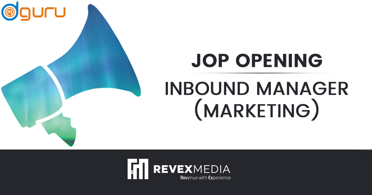 Inbound Marketing Manager Vacancy at Revex Media Gurgaon
