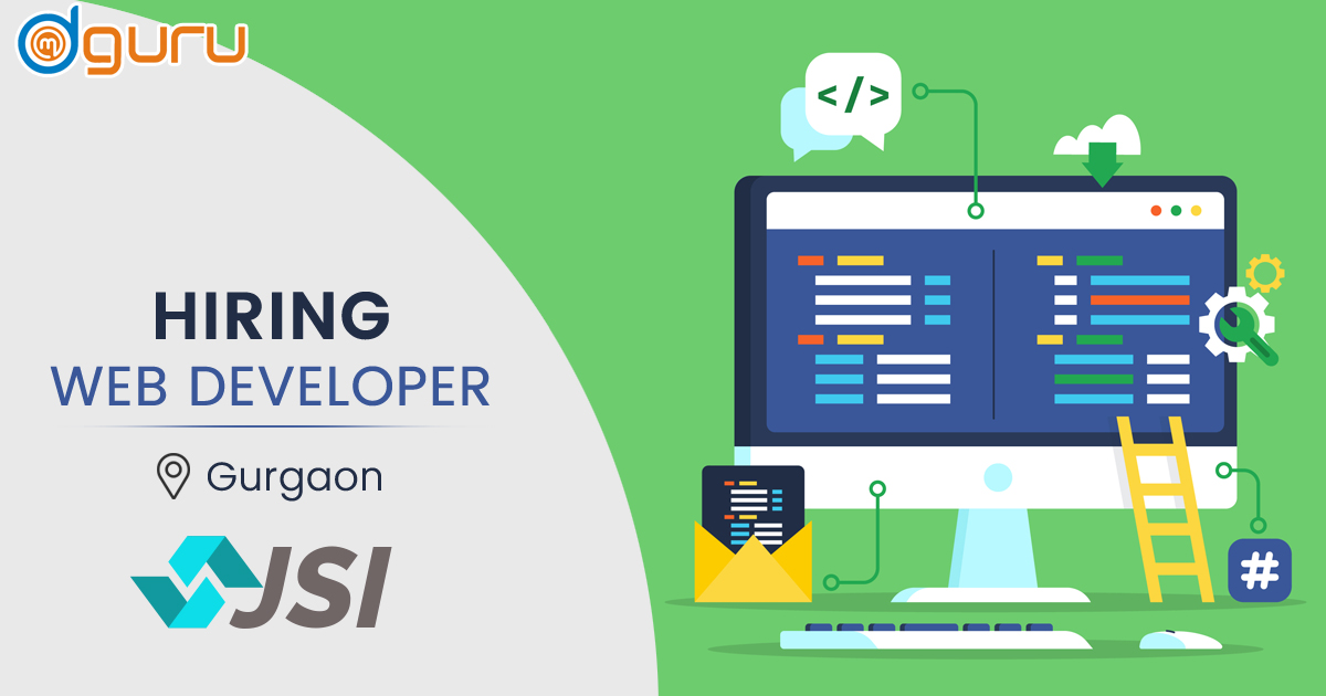 Web Developer at JSIC Gurgaon