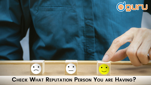 What Reputation Persona You are Having
