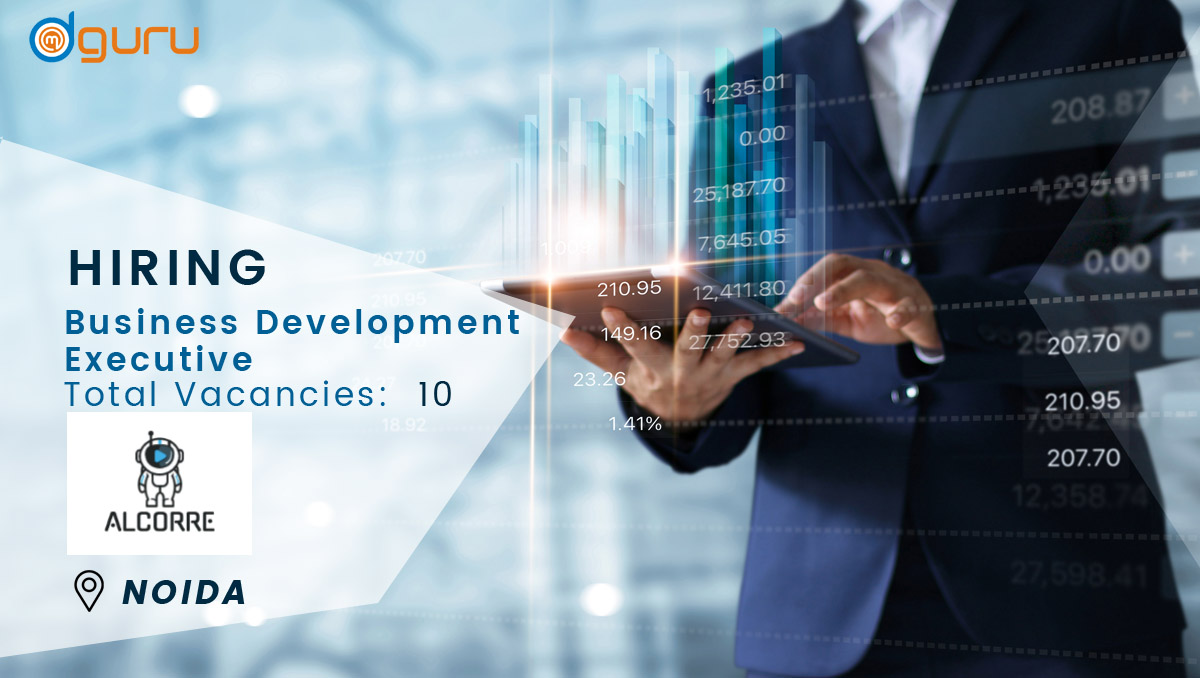Business Development Executive Job at ALCORRE Noida, India