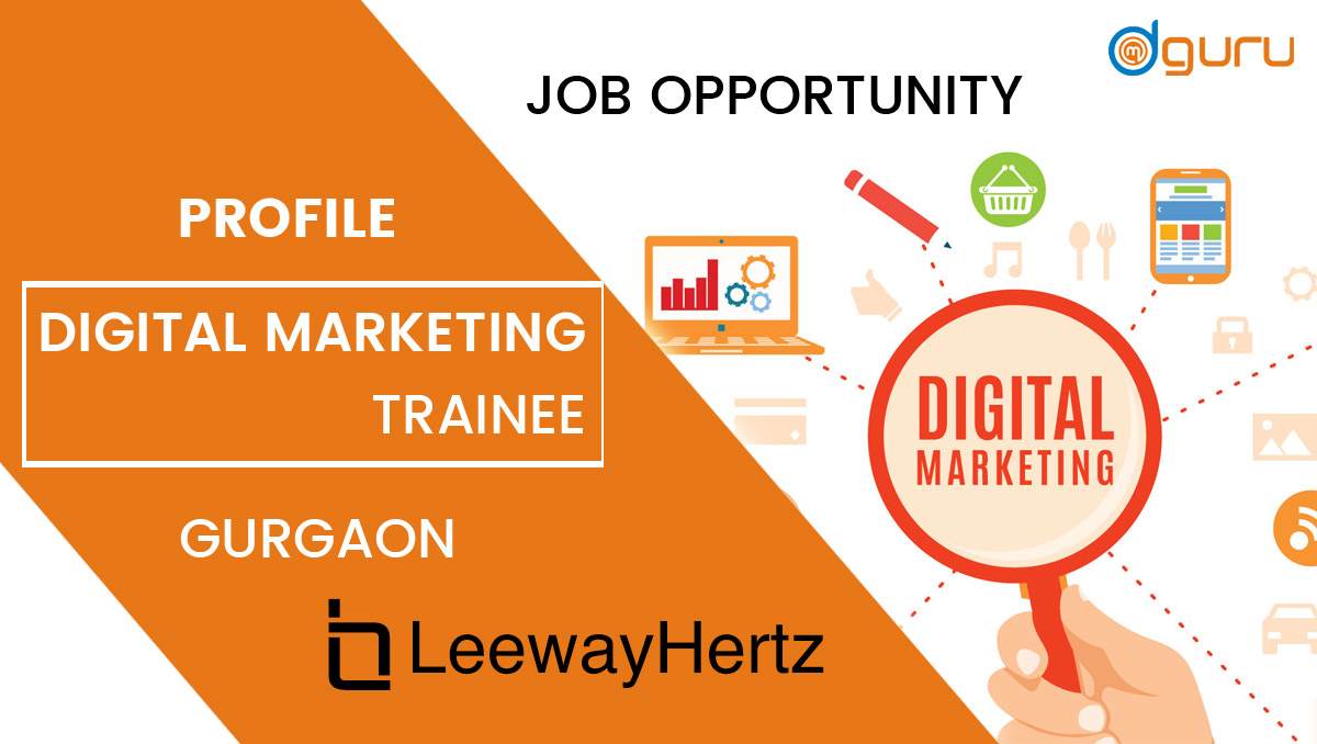 gital Marketing Trainee at Leewayhertz Gurgaon, India
