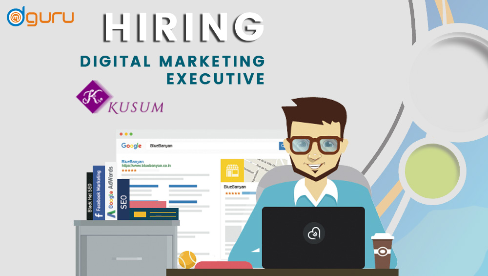 Digital Marketing Executive Job at Kusum Gurgaon, India