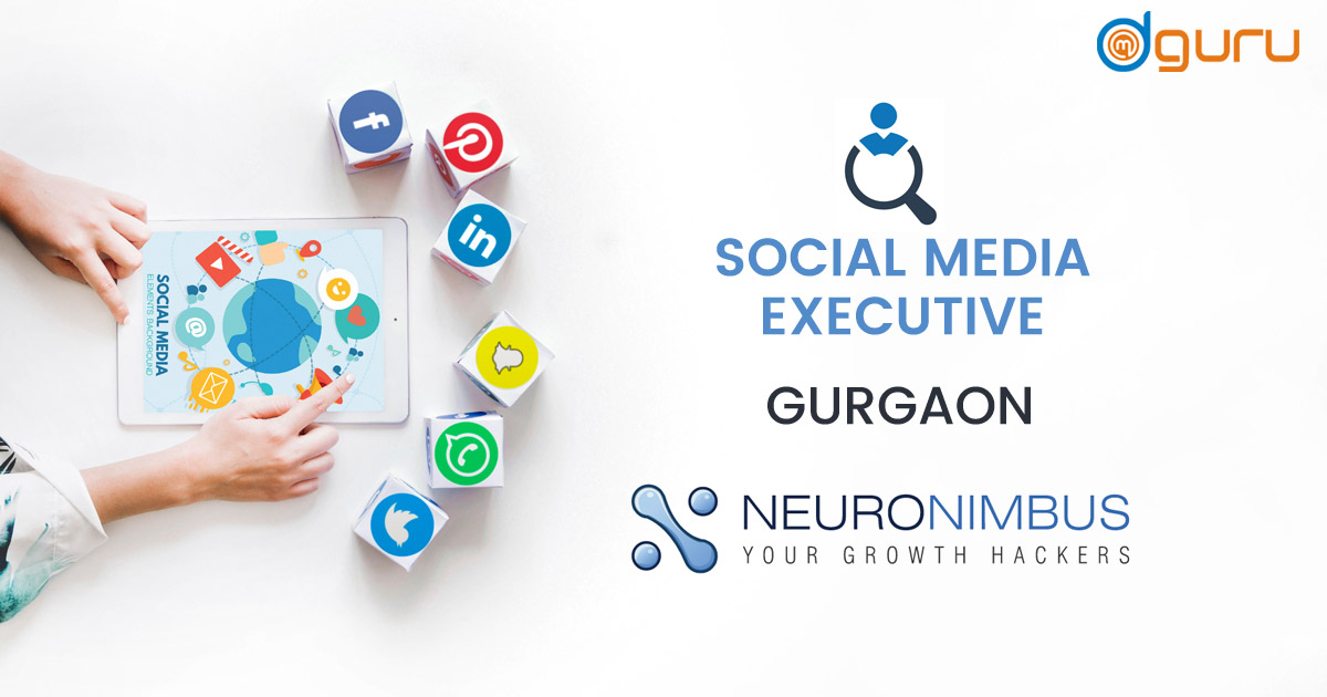 Social Media Executive Job at Neuronimbus Software Services Gurgaon India