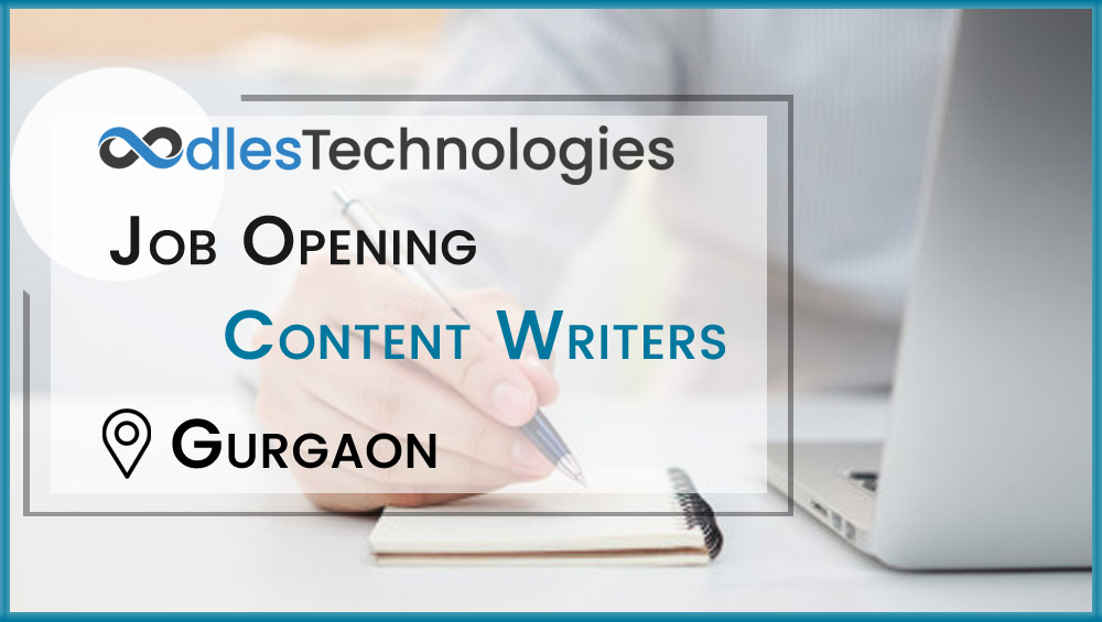Content Writers Job at Oodles Technologies Gurgaon, India
