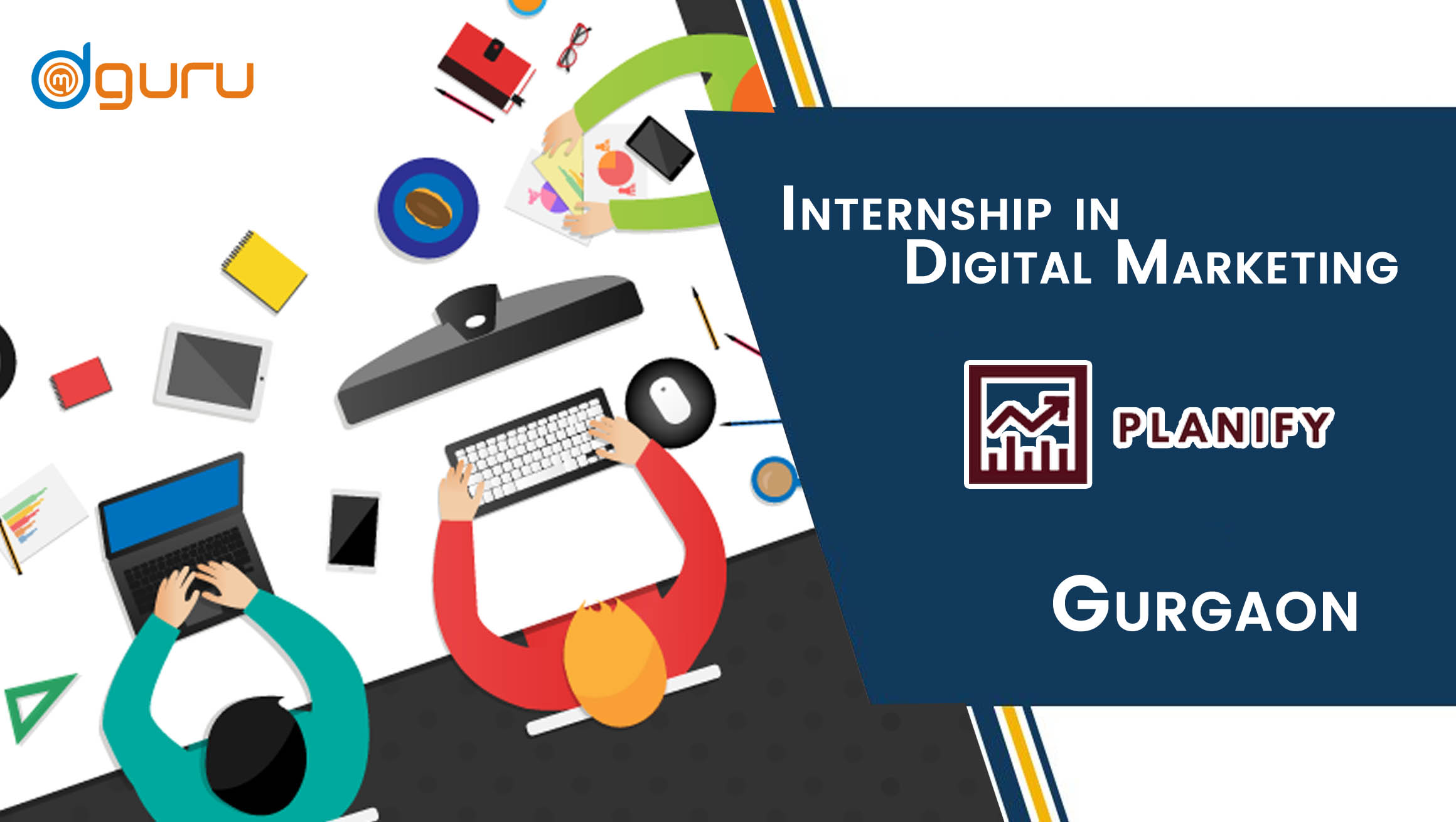 Digital Marketing Internship at Planify Gurgaon, India