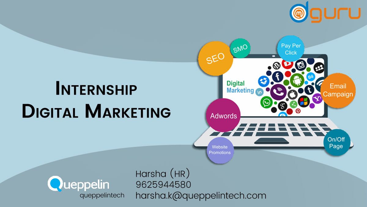 Digital Marketing Intern Job at Queppelintech Gurgaon, India