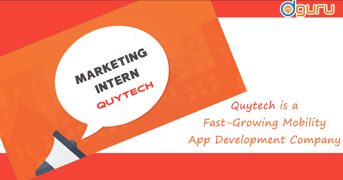 Marketing Intern at Quytech Gurgaon India
