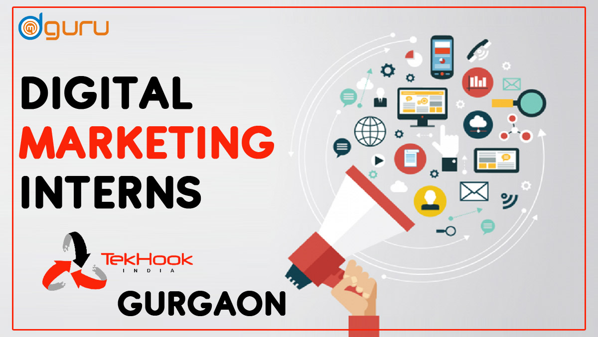 Digital Marketing Intern Job at Tekhook in Gurgaon, India