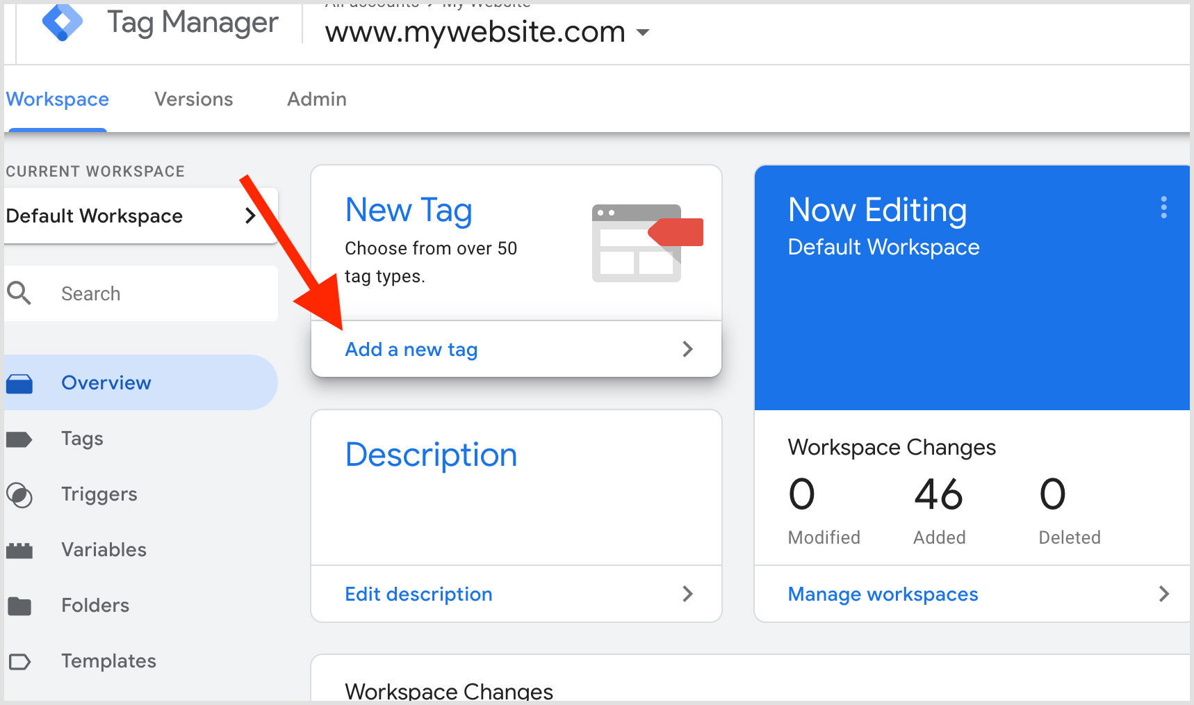 update tags to get the website traffic