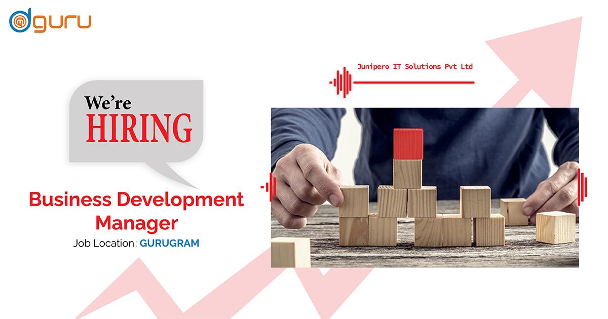 Business Development Manager at Junipero IT Solutions Pvt. Ltd.