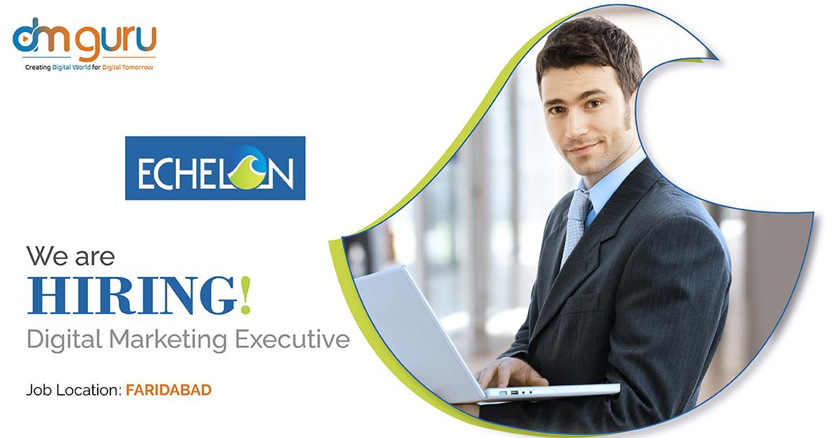 Digital Marketing Executive at Echelon Institute