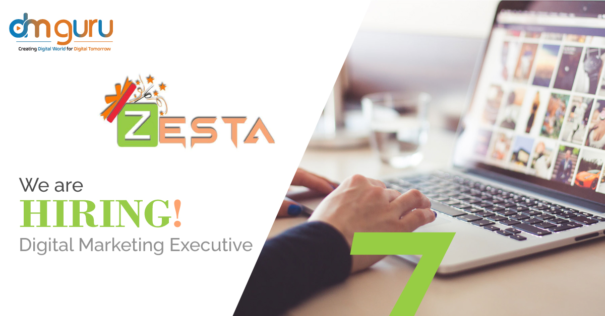 Digital Marketing Executive at Zesta India