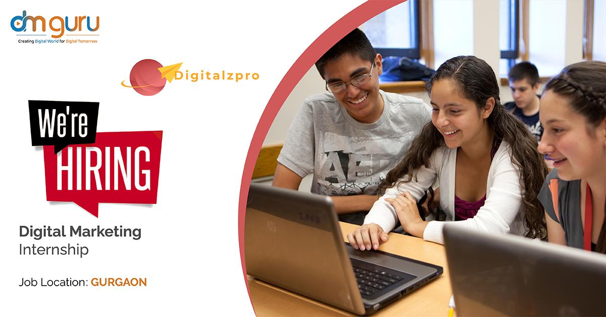 Digital Marketing Internship at Digitalzpro