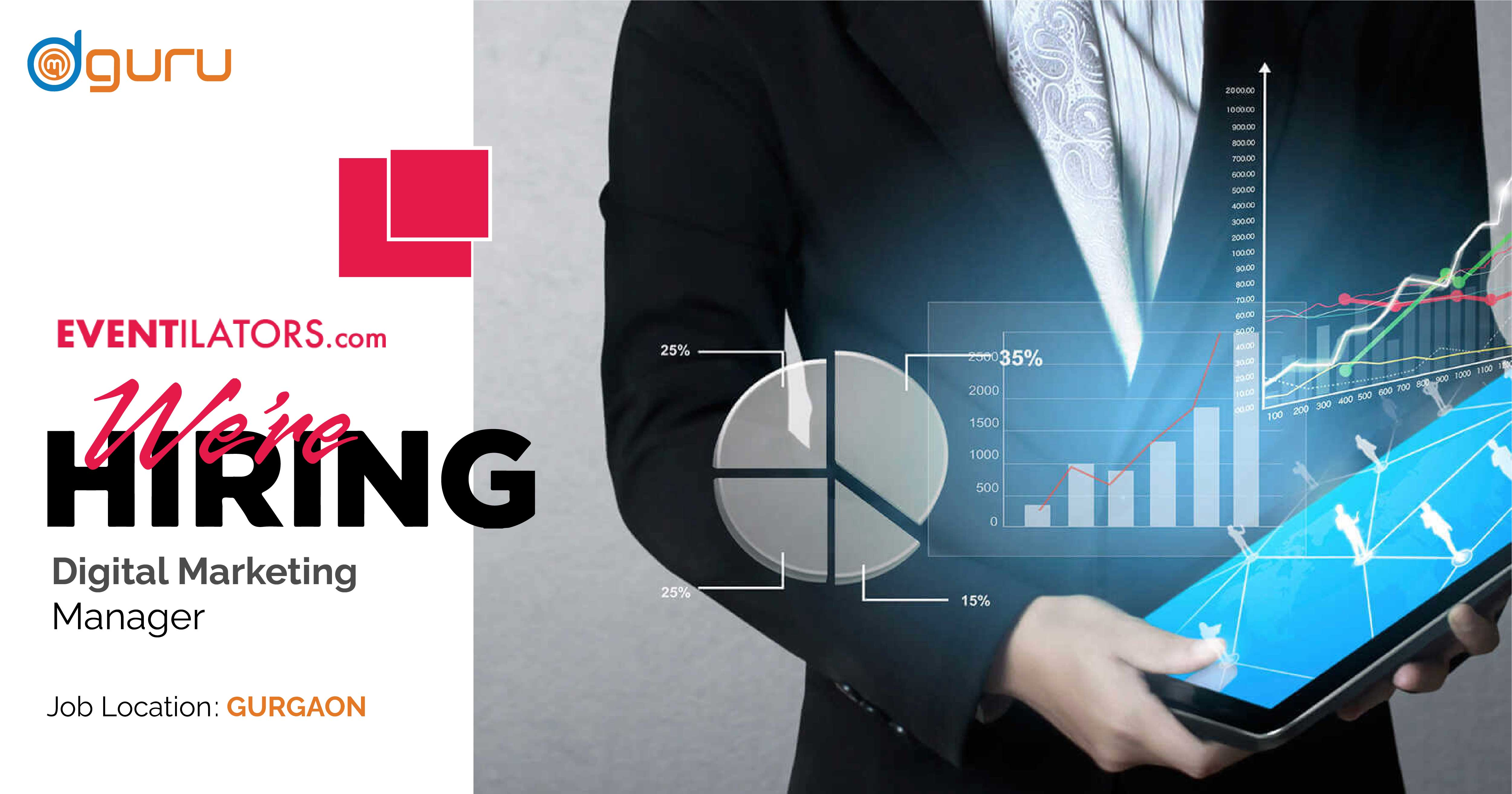 Digital Marketing Manager at Eventilators