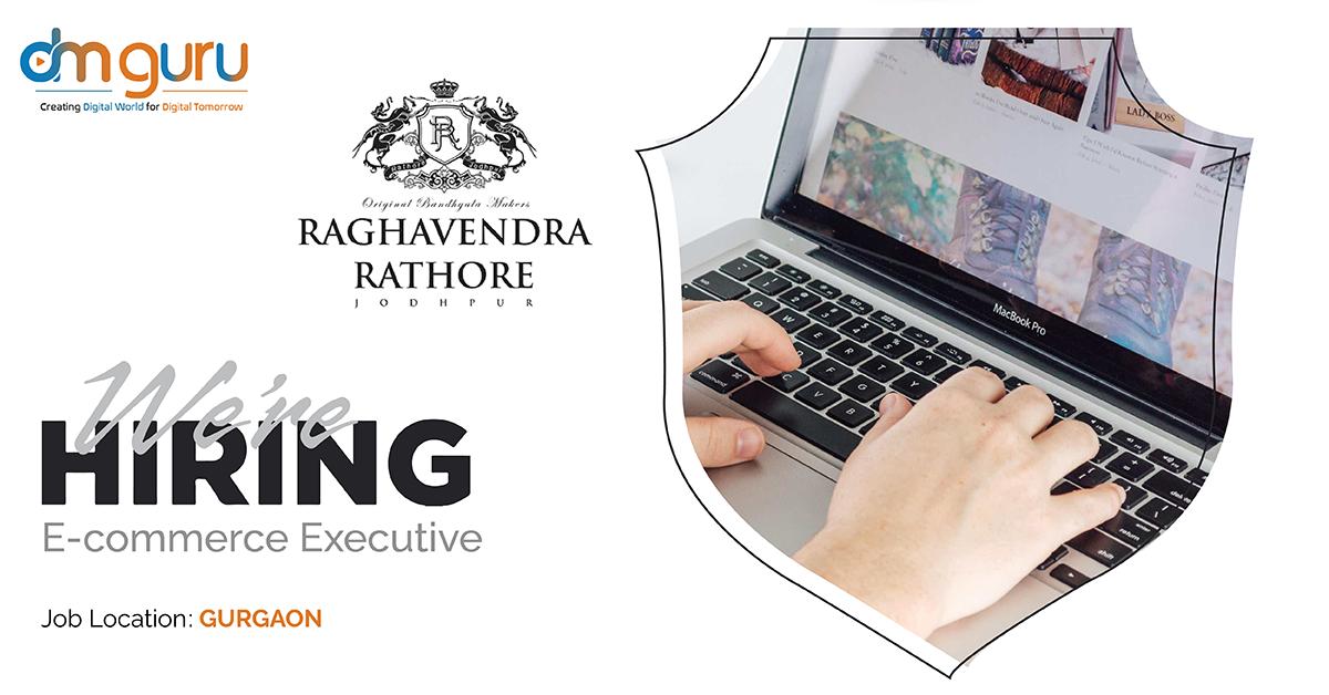 Digital Marketing Executive at Raghvendra Rathore