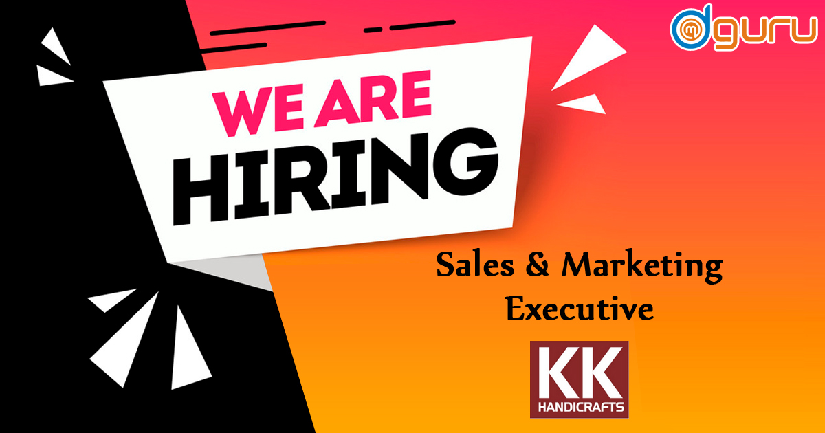 Sales & Marketing Executive Vacancy at Kathkriti Handicrafts Delhi NCR