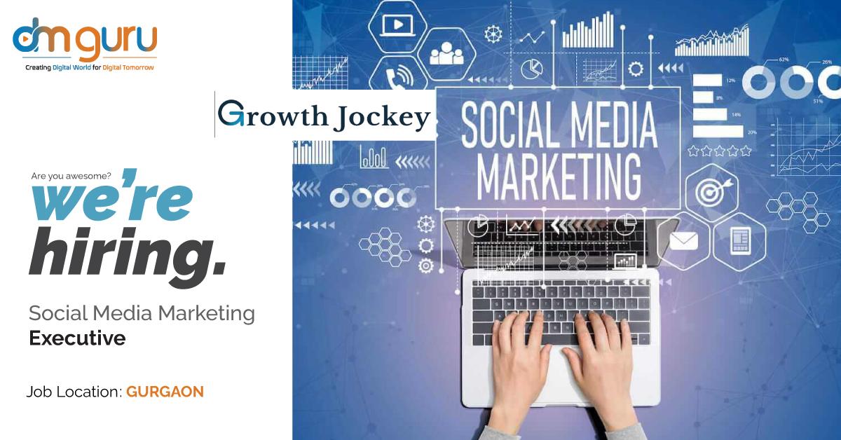 Social Media Marketing Jobs at Growth Jockey Gurgaon