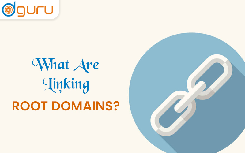 what are linking root domains