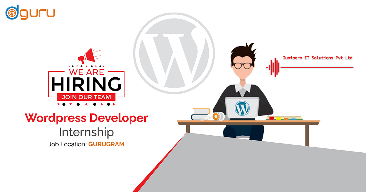 Wordpress Developer Internship at Junipero IT Solutions Pvt. Ltd.